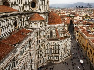 From the top of the Florence Duomo